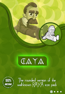 Caya Icon pack for PC-Windows 7,8,10 and Mac apk screenshot 1
