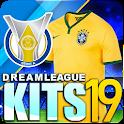 Dream league Brasileiro kits soccer icon