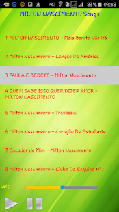 All song Milton Nascimento - náhled