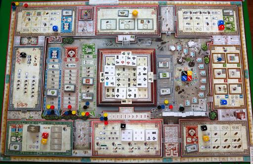 テオティワカン:ゲームの準備