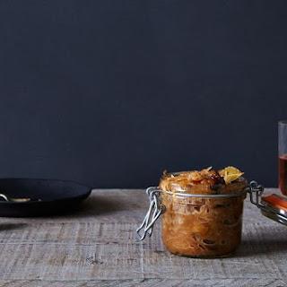 Caramelized Sauerkraut with Prunes, Herbs, and Honey Recipe