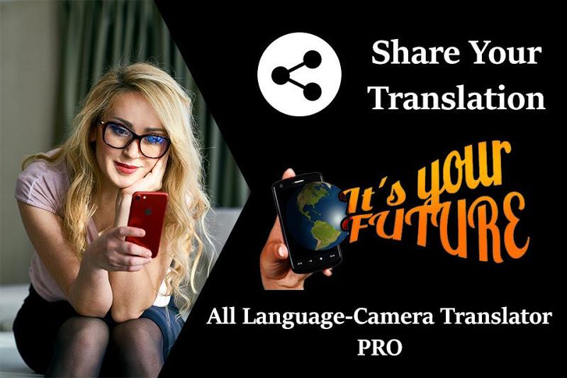 All Language-Camera Translator PRO Screenshot 3