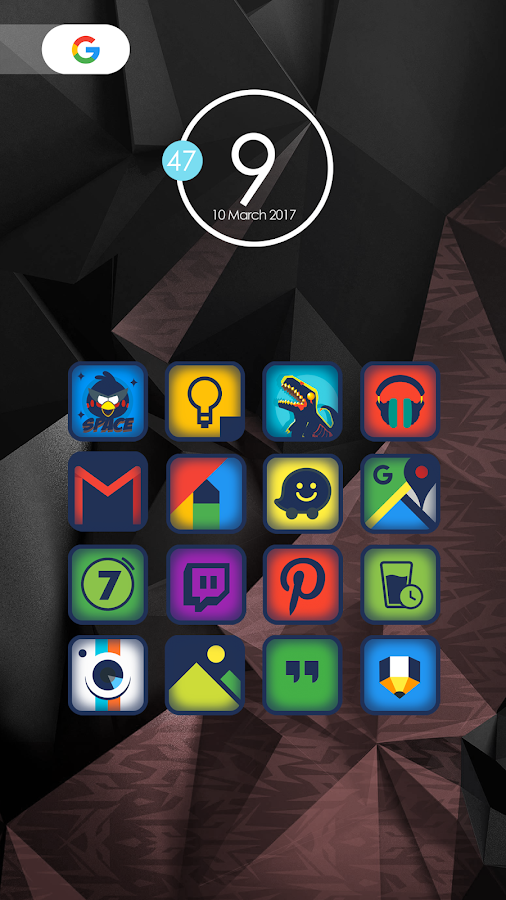 Pumre - Icon Pack- screenshot
