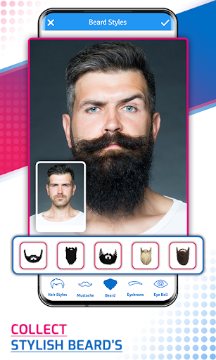 Man Photo Editor & Men HairStyle, Suits, Mustache screenshot 2