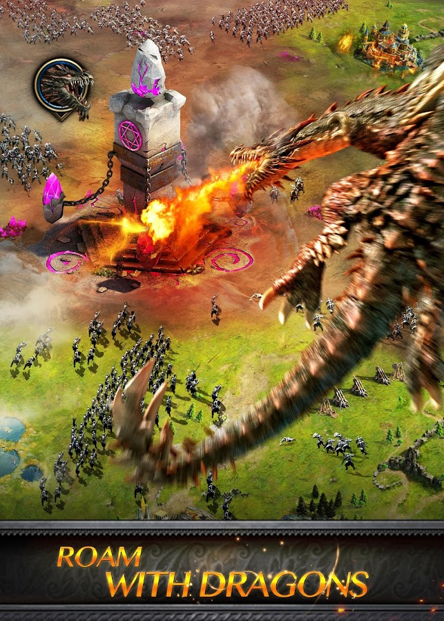 Clash of Queens:Dragons Rise- screenshot