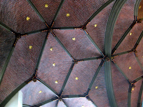 Photo: The amazing vaulted ceiling.