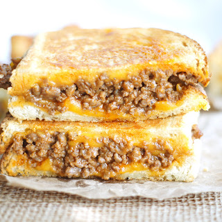 Sloppy Joe Grilled Cheese.