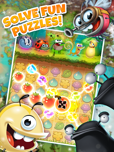 Best Fiends - Free Puzzle Game apktram screenshots 9