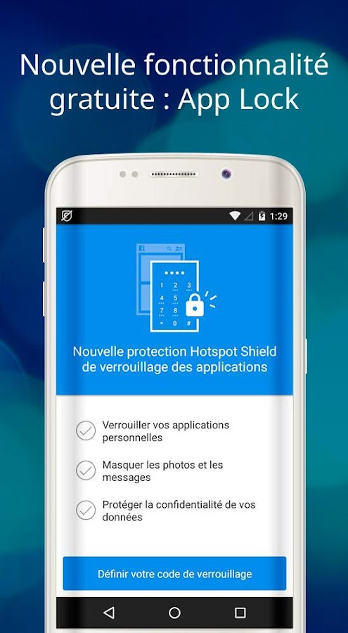 hotspot shield gratuit vpn proxy s curit wifi applications android sur google play. Black Bedroom Furniture Sets. Home Design Ideas