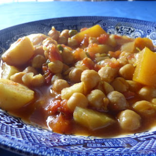 Frugal Chickpea Curry