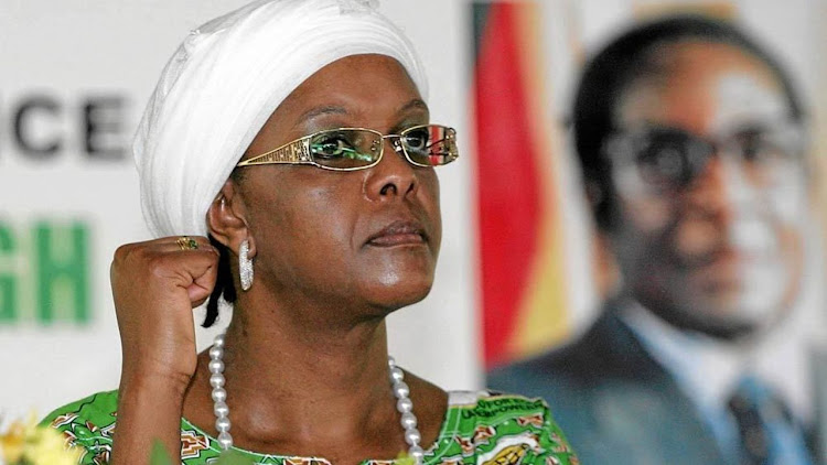 Grace Mugabe. Picture: REUTERS