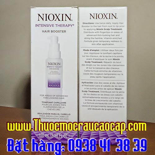 thuốc mọc râu nioxin booster