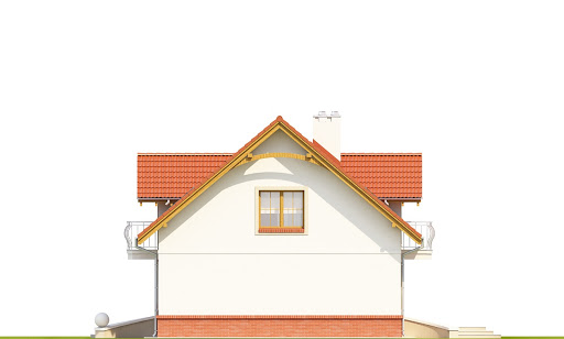 Dom Dla Ciebie 1 w2 bez garażu B - Elewacja prawa