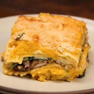 Butternut Squash 4-cheese Ravioli Bake.