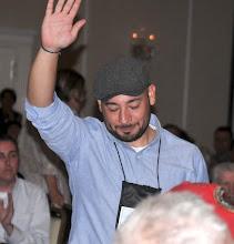 Photo: Board member Jason Cardenas also received a lifetime membership