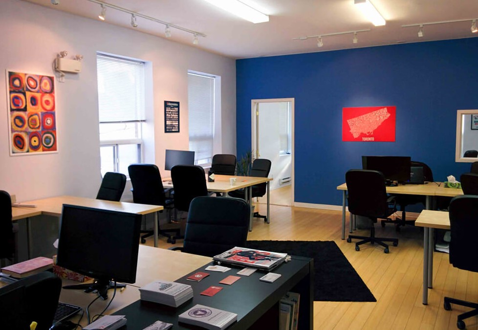Gizmo Labs Coworking Space in Toronto