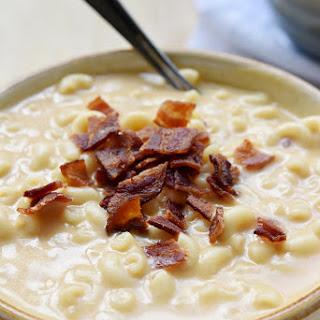 Macaroni & Cheese Soup.