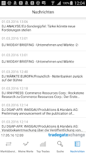 Börse- screenshot thumbnail