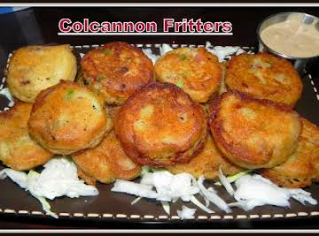 Colcannon Fritters