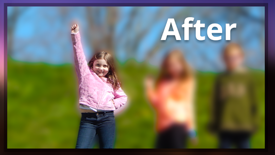 how to get blur effect