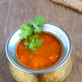 Andhra style Pappu Charu | Tomato Dal Rasam