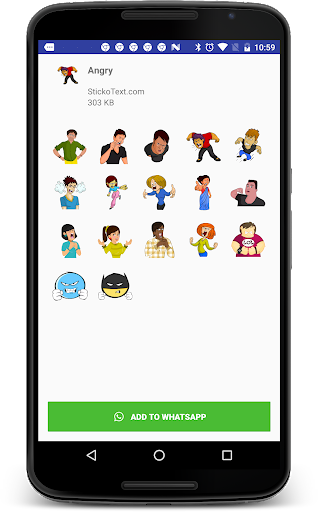 Stickers For Chat - Third Party WAStickerApps sgn_J8_2019 screenshots 5