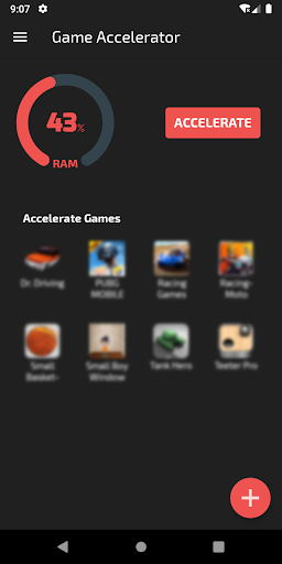 u26a1Game Accelerator : Play games without lagu26a1  screenshots 1