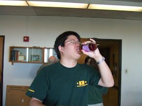 Photo: Richard a drinkin