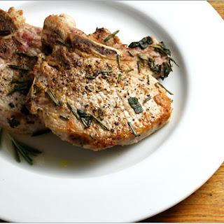 Rosemary Sage Chops Recipe