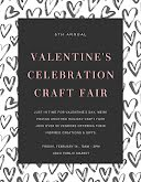 Valentine's Craft Sale - Poster item