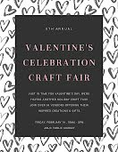 Valentine's Craft Sale - Poster item