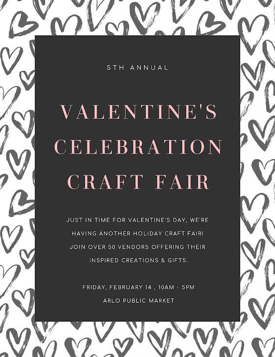 Valentine's Craft Sale - Valentine's Day Template