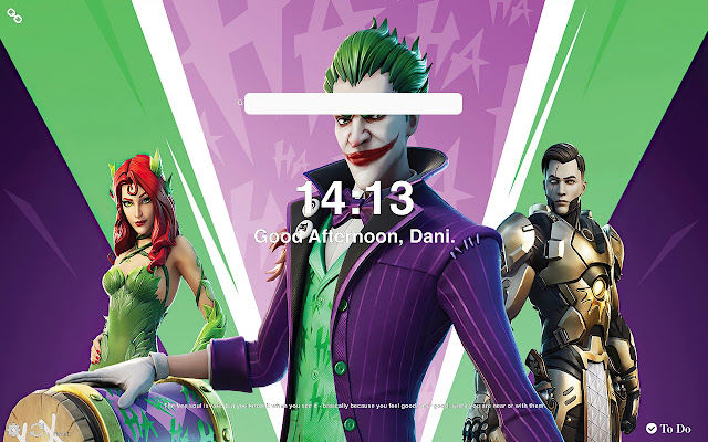 Joker Fortnite Skin Wallpapers New Tab