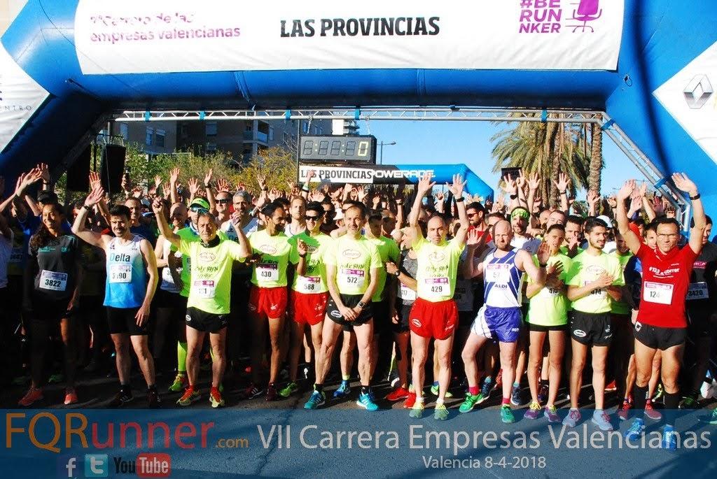 Fotos VII Carrera de las Empresas Valencianas 2018