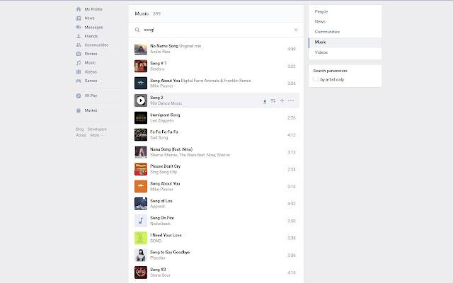 VK Video & Music Downloader
