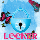 Theme Blue Butterfly GO Locker icon