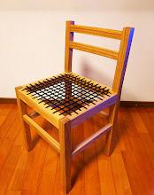 Photo: <ご連絡いただいた原文> 用途は、趣味の木工で製作している椅子の座面です。 その椅子が完成しましたので、お礼方々ご連絡させていただきました。 サンプルをご提供いただき、10mm幅の紐を購入しました。 強度、座り心地もよいものを製作することができました。