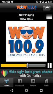 WOW 100.9- screenshot thumbnail