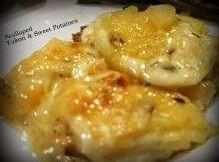 Scalloped Yukon & Sweet Potatoes Recipe