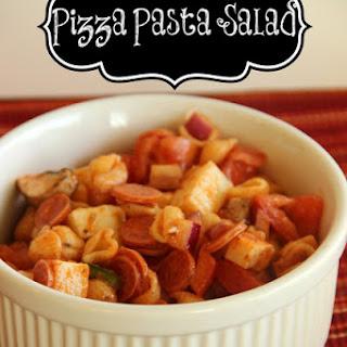 Make-Ahead Pizza Pasta Salad