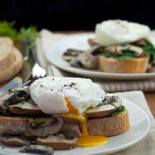 Mushrooms on Toast.