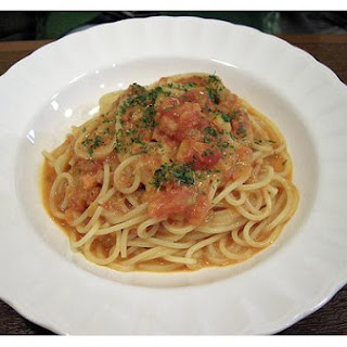 Crab Sauce With Spaghetti