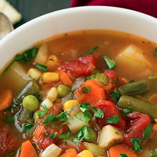 Vegan Vegetable Soup Recipe