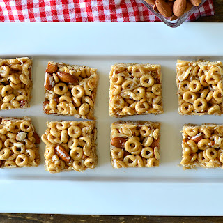 First Day of School Made Easier with No Bake Cereal Bars