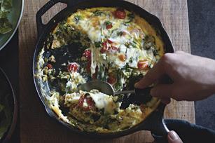 Photo: Cheesy Chorizo Frittata by Kraft Foods. Find this recipe here:http://kraft.us/HNo949