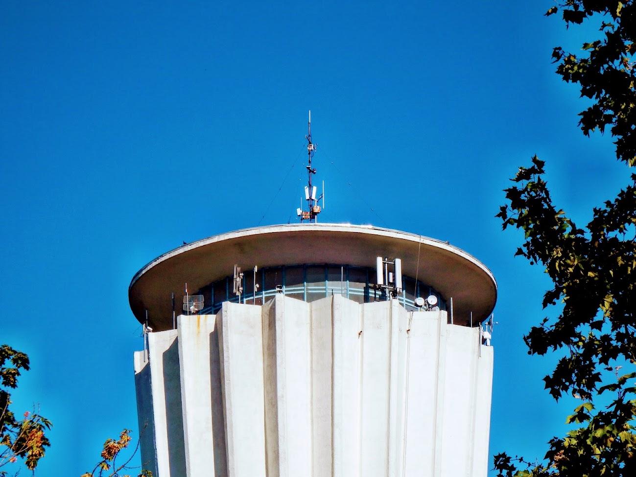 Tiszaújváros/víztorony - helyi URH-FM adóállomás