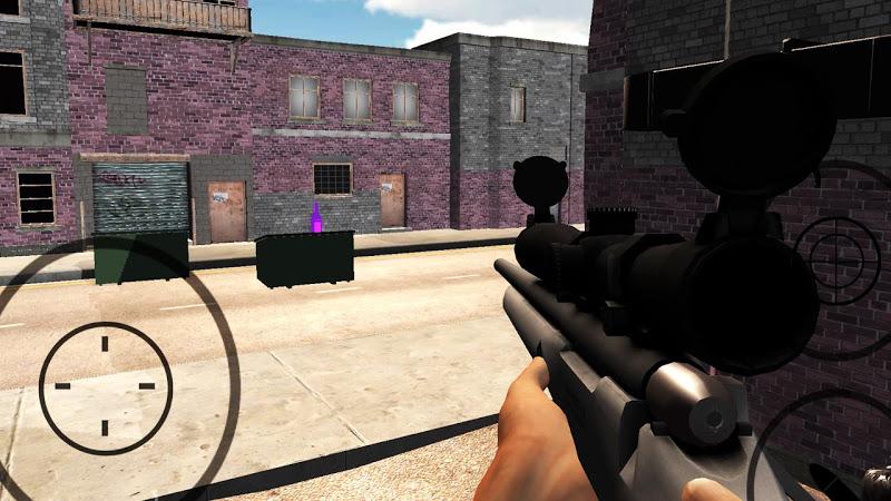 Скриншот Sniper Bottle Shooter Expert: Offline Shooter Game