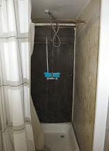 Photo: ...und die Dusche erstmal, WOW