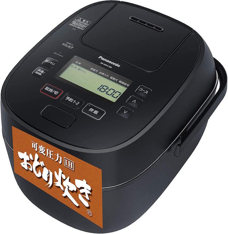 パナソニック 炊飯器 1升 可変圧力IH式