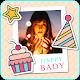 Happy birthday photo frame APK